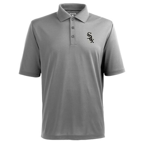 Antigua Men's Chicago White Sox Piqué Xtra-Lite Polo Shirt - view number 1