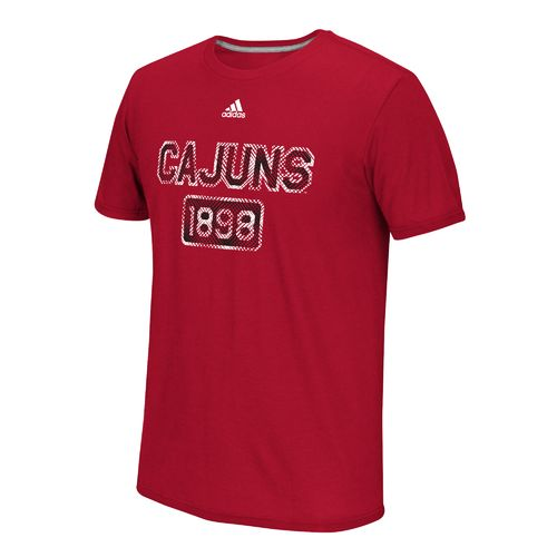 adidas™ Men's University of Louisiana at Lafayette Rough Diamonds T-shirt