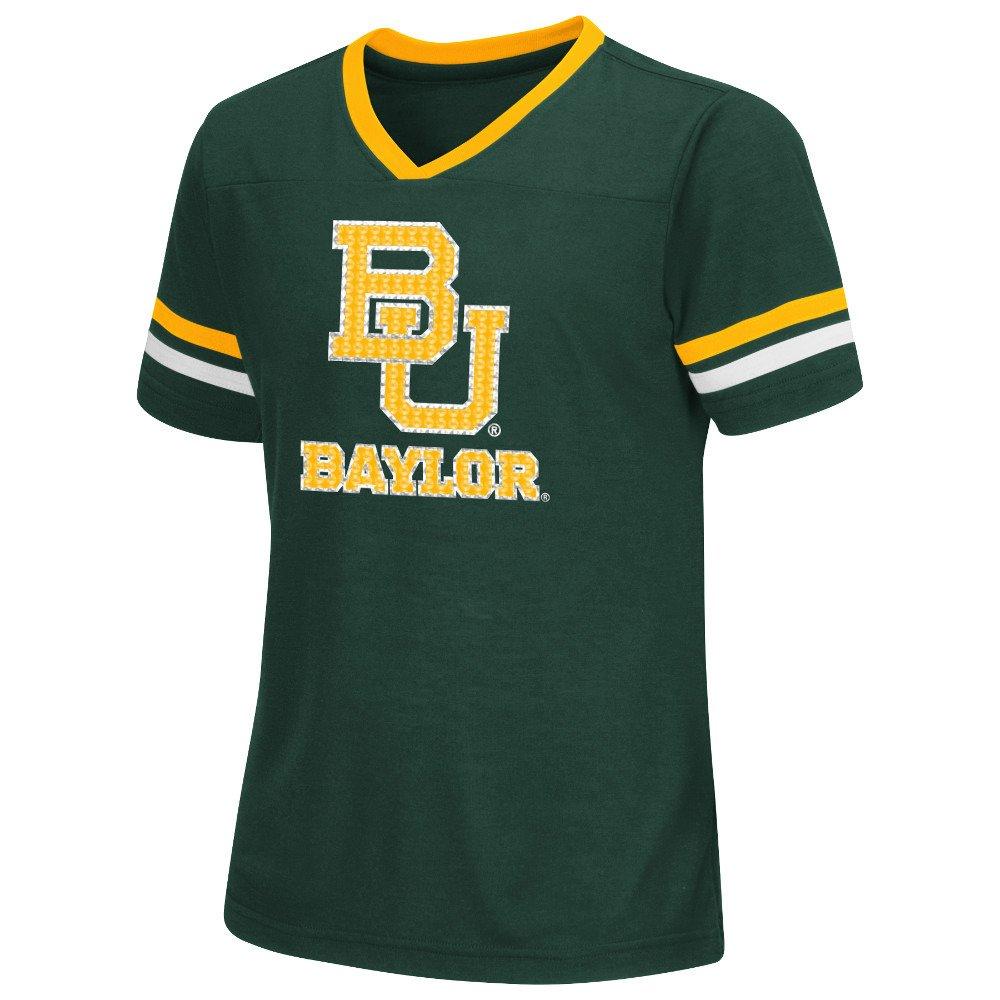 Colosseum Athletics™ Girls' Baylor University Titanium T-shirt