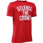 Under Armour® Boys' Silence the Crowd Short Sleeve T-shirt