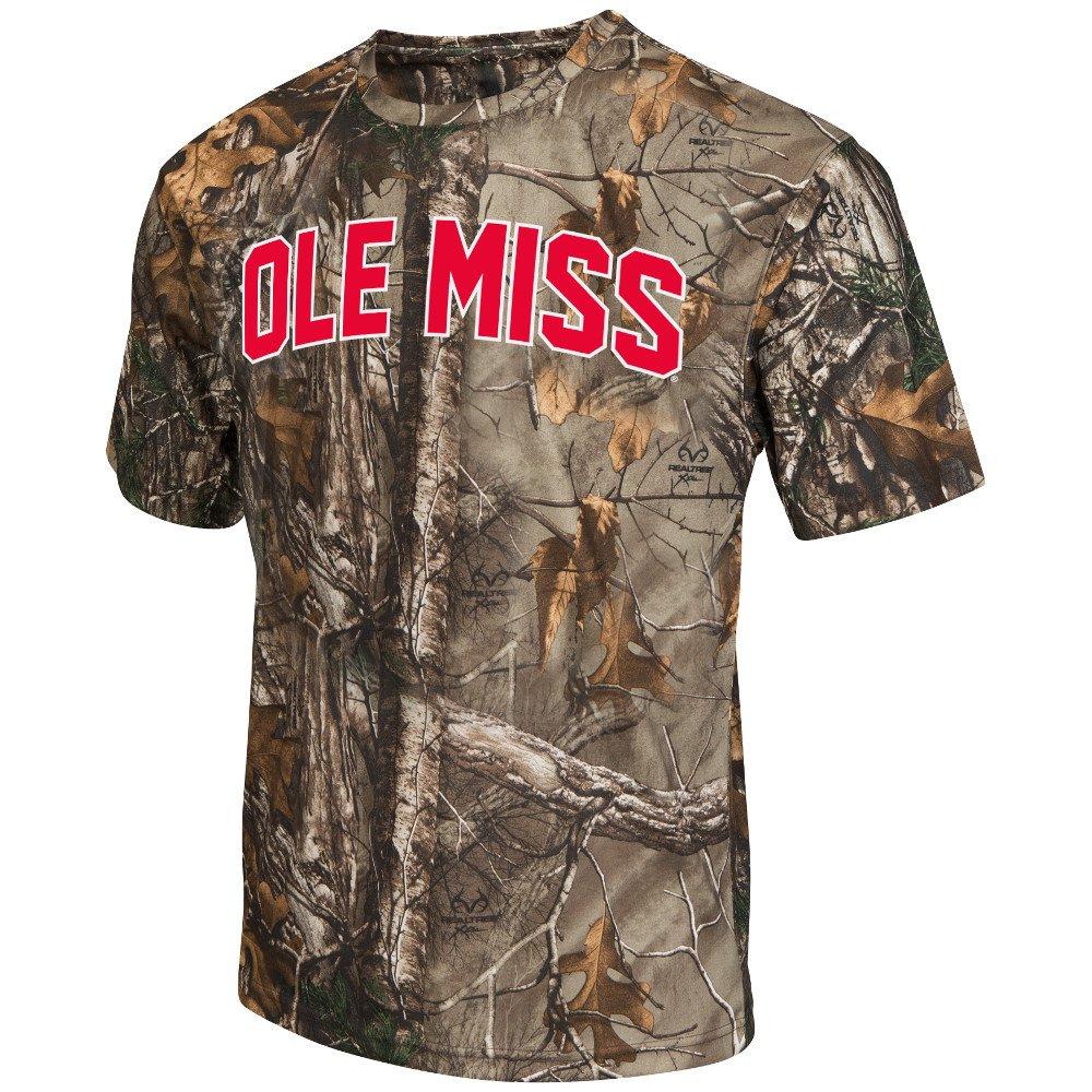 Colosseum Athletics™ Men's University of Mississippi Camo Brow