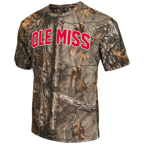 Colosseum Athletics™ Men's University of Mississippi Camo Brow Tine T-shirt