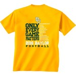 New World Graphics Men's Baylor University Schedule T-shirt