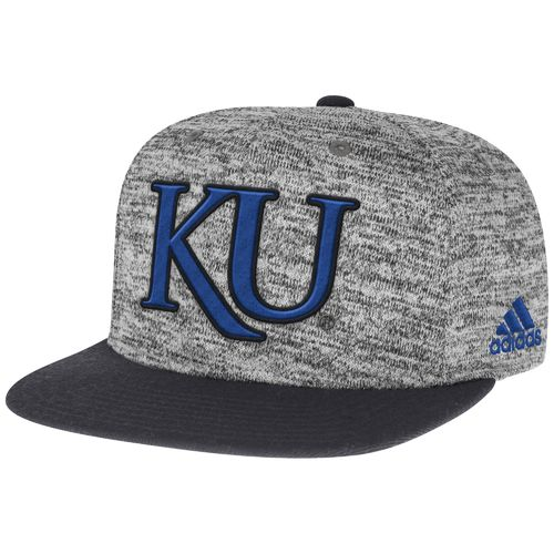 adidas™ Men's University of Kansas Player Snapback Cap
