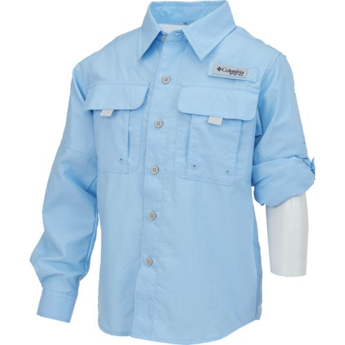 Columbia Sportswear Boys' PFG Bahama™ Long Sleeve Fishing Shirt