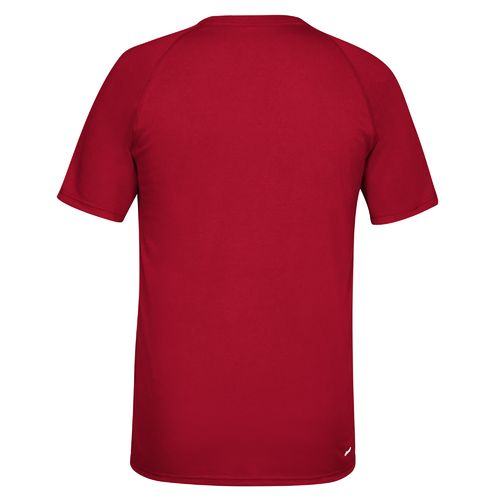 adidas™ Men's University of Louisville climalite® Ultimate Short Sleeve T-shirt - view number 2