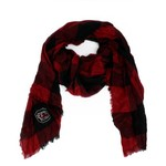 ZooZatz Women's University of South Carolina Buffalo Check Collegiate Scarf