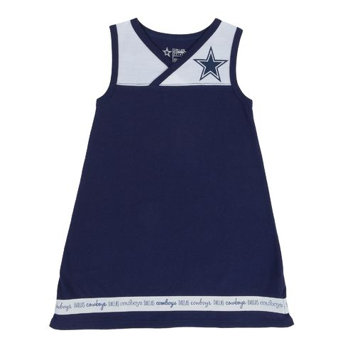 Dallas Cowboys Toddlers' Roseberry Dress