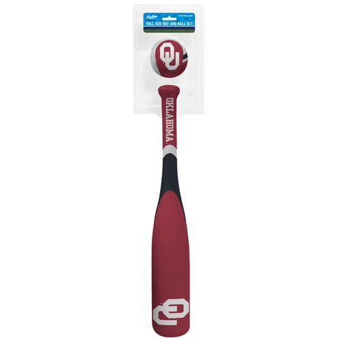 Rawlings® University of Oklahoma Grand Slam Softee Bat and Ball Set