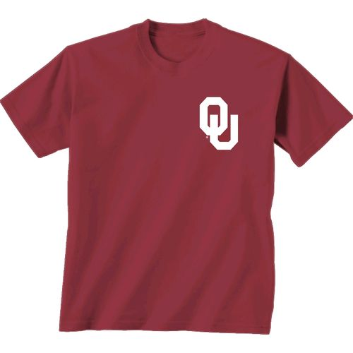 New World Graphics Women's University of Oklahoma Madras T-shirt - view number 2