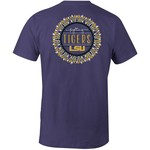Image One Women's Louisiana State University Color Me Comfort Color T-shirt