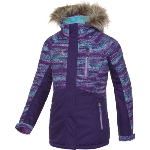 Free Country Girls' Radiance Colorblock Snowboard Jacket - view number 1