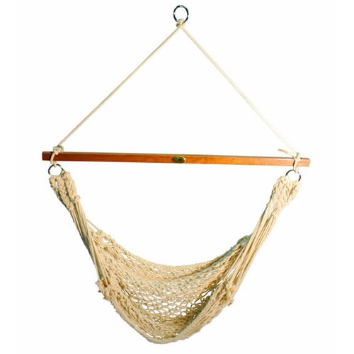 Algoma Cotton Rope Hanging Chair - view number 1