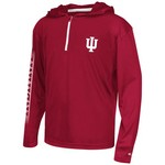 Colosseum Athletics™ Boys' Indiana University Sleet 1/4 Zip Hoodie Windshirt