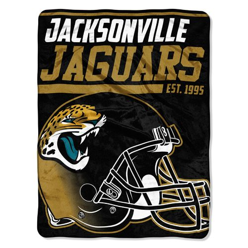 The Northwest Company Jacksonville Jaguars 40 Yard Dash Micro Raschel Throw