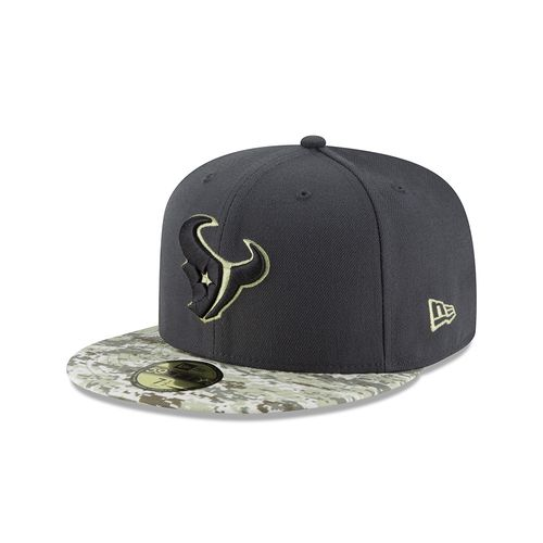 New Era Men's Houston Texans Salute to Service 59FIFTY Cap