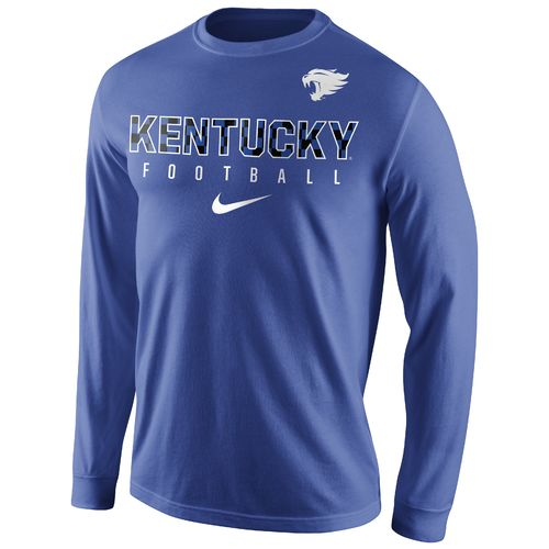Nike™ Men's University of Kentucky Long Sleeve Practice T-shirt