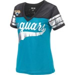 G-III for Her Women's Jacksonville Jaguars Pass Rush Fashion Top
