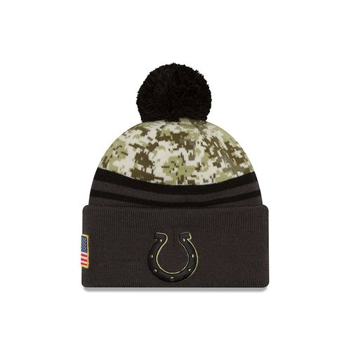 New Era Men's Indianapolis Colts Salute to Service Knit Cap