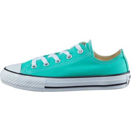 Converse Girls' Chuck Taylor All-Star Seasonal Menta Ox Shoes