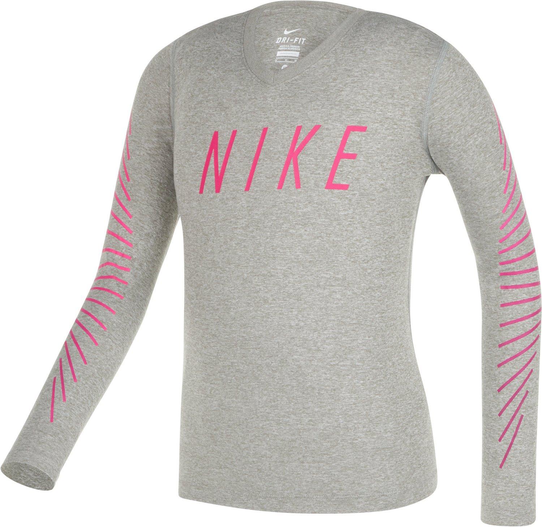 Nike™ Girls' Dry Matchsticks Training T-shirt