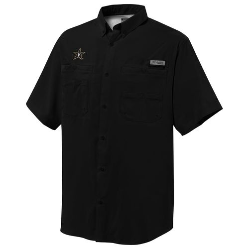 Columbia Sportswear™ Men's Vanderbilt University Tamiami™ Short Sleeve Fishing Shirt