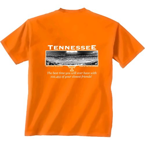 New World Graphics Men's University of Tennessee FB Friends Stadium T-shirt