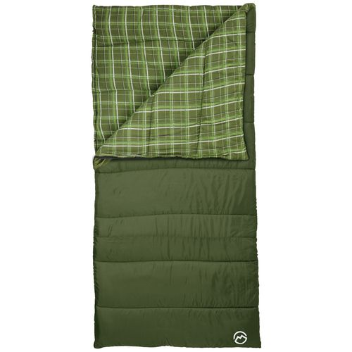 Display product reviews for Magellan Outdoors 4 lbs Flannel Lined Rectangle Sleeping Bag