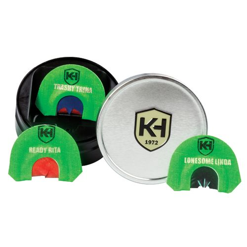 Knight & Hale Deadly Diva Turkey Calls 3-Pack