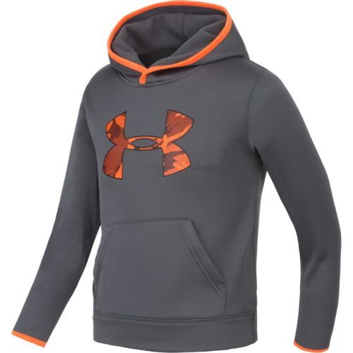 Under Armour™ Boys' Camo Big Logo Pullover Hoodie