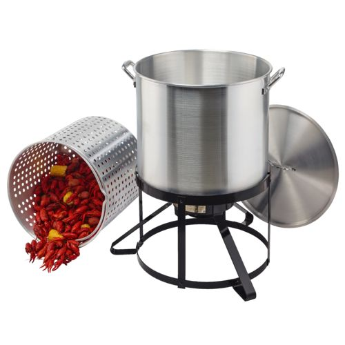 Outdoor Gourmet Pro™ 100 qt. Crawfish Kit with Strainer