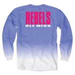 Blue 84 Women's University of Mississippi Ombré Long Sleeve Shirt - view number 1