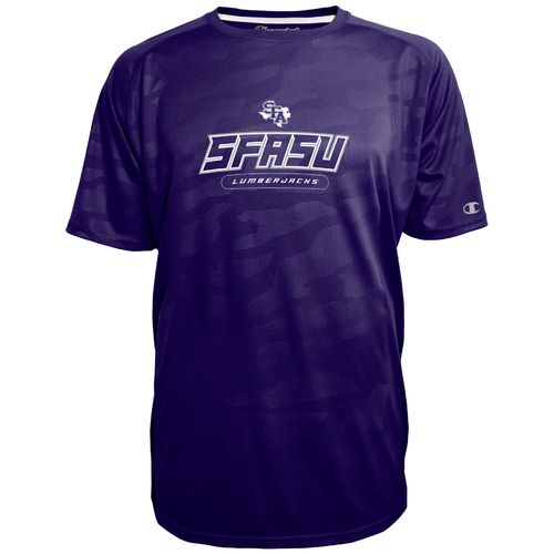 Champion™ Men's Stephen F. Austin State University Impact Embossed T-shirt