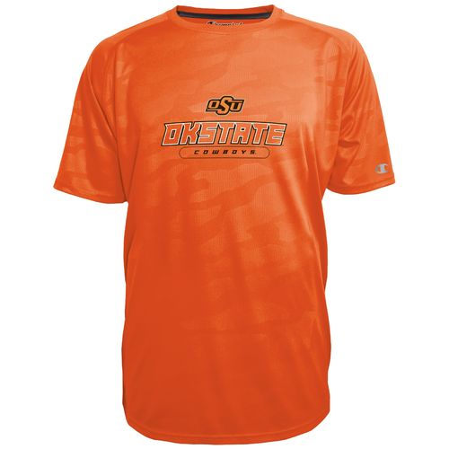 Champion™ Men's Oklahoma State University Impact Embossed T-shirt - view number 1