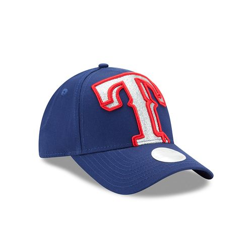 New Era Women's Texas Rangers 9FORTY Glitter Glam 3 Cap - view number 3
