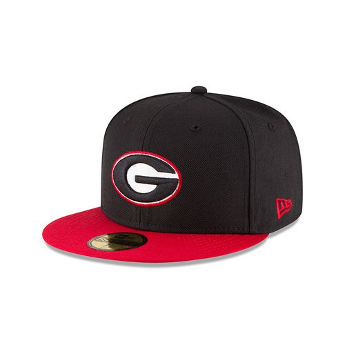 New Era Men's University of Georgia 59FIFTY Cap