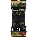 CargoLoc 8' Camo Ratchet Tie-Downs 2-Pack - view number 2