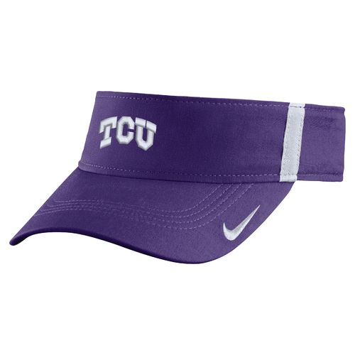 Nike™ Men's Texas Christian University AeroBill Sideline Visor