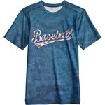 BCG Boys' Baseball Word Fitted Compression T-shirt - view number 4
