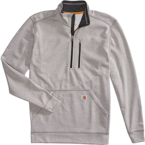 Carhartt Men's Force Extremes Mock Neck 1/2 Zip Sweatshirt - view number 4