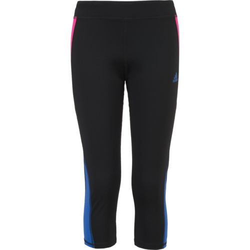 adidas Girls' Colorblock Capri Tight