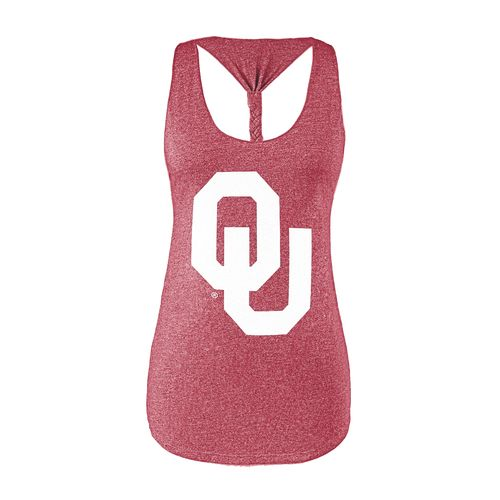 Chicka-d Women's University of Oklahoma Braided Tank Top