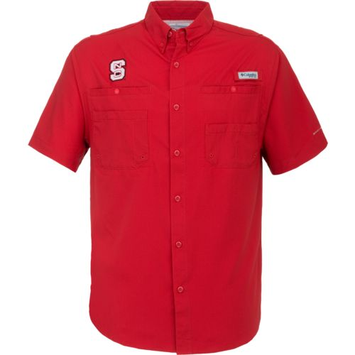 Columbia Sportswear™ Men's North Carolina State University Tamiami™ Button Down Shirt - view number 1