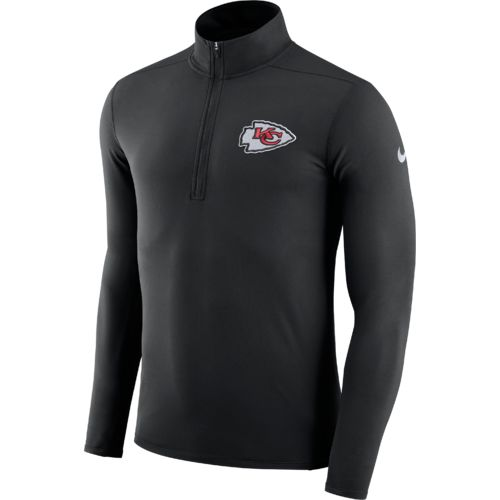 Display product reviews for Nike™ Men's Kansas City Chiefs Element Dry 1/4 Zip Pullover