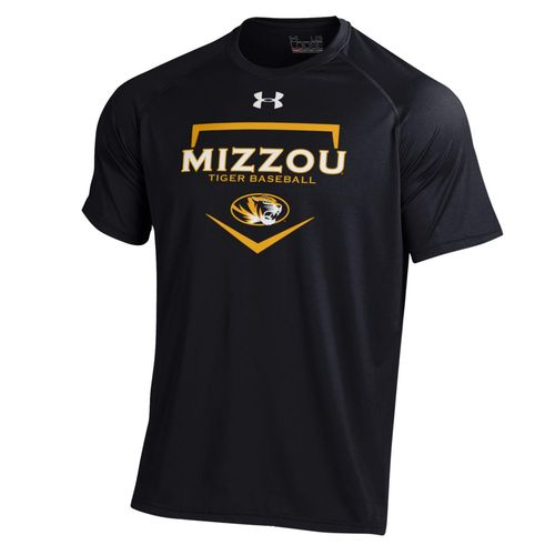 Under Armour Men's University of Missouri Baseball Tech T-shirt