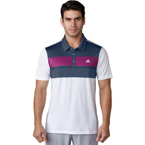 adidas Men's climacool Chest Block Polo Shirt