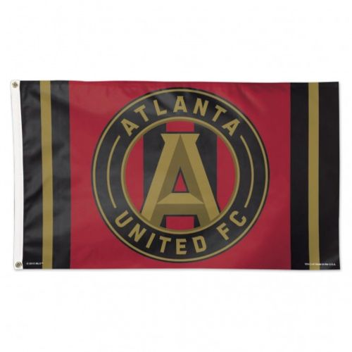 WinCraft Atlanta United FC 3 ft x 5 ft Deluxe Flag - view number 1