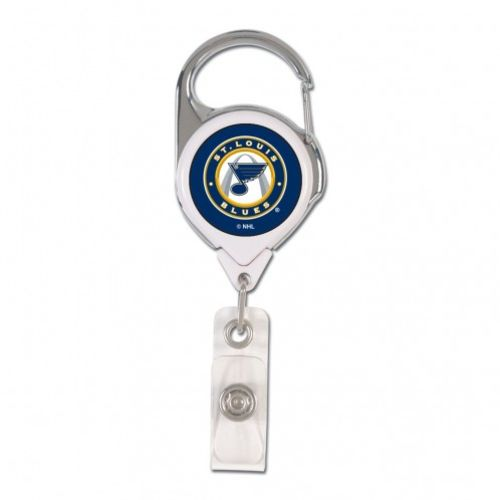 WinCraft St. Louis Blues Retractable Badge Holder - view number 1