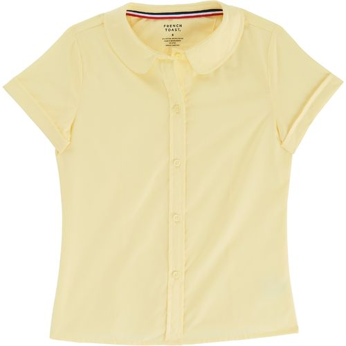 French Toast Toddler Girls' Modern Peter Pan Short Sleeve Blouse