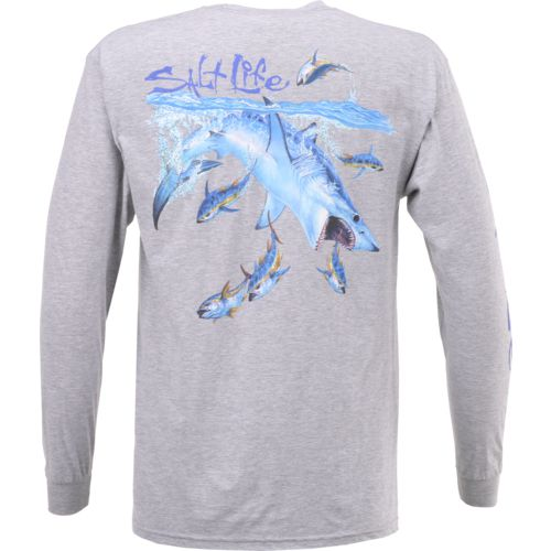 Salt Life Men's Mako Sushi Long Sleeve T-shirt - view number 3
